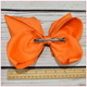 Double Stacked Basic 8 Inch Solid Color Hair Bow -Alligator Clip, hair bows BargainBows