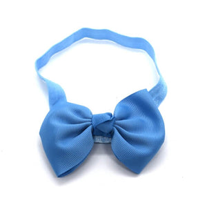 4-inch Classic Style Porcelain Blue Headband