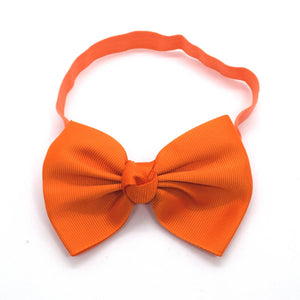 4-inch Orange Classic Headband