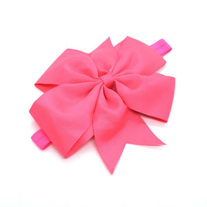 5-inch Passion Fruit Pink Pinwheel headband