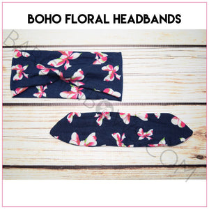 Boho Floral Headband Bundle, headbands BargainBows