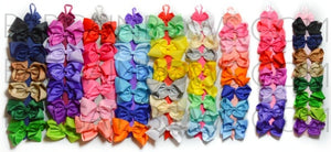 Bargain Bows Hot Pink Hair Bow Holder- Single, 3 and 6 pack., accessories BargainBows