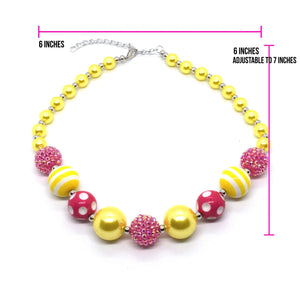 Bubble Yum Bubble Gum bead Necklace