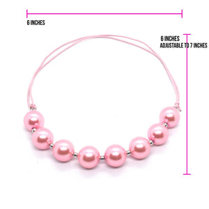 Bubble Gum String Necklaces