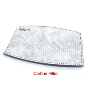 Anti-Dust Carbon Filter for Neck Gaiters