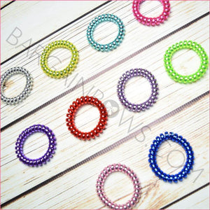 Cord Hair Ties Solid Colors