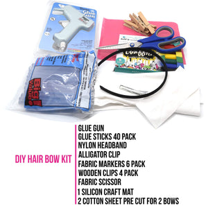 Hair Bow DIY Start Kit | DIY BOX - Free Shipping