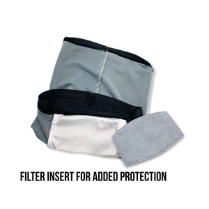 Performance Neck Gaiter W/Filter | Deep Tuna