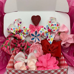 Valentine Bow Gift Box | Valentine Picnic-Clips-Free Shipping