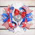 Happy 4th of July Boutique Bow