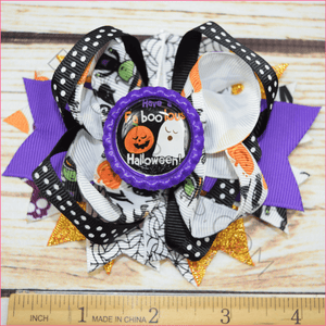 Have a Faboolous Halloween Boutique Bow - BargainBows