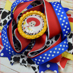 Jessie Toy Story Boutique Bow