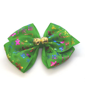 Christmas Bow Gift Box | Jingle Bell Edition-Clips