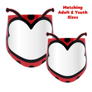 Fun Face Shields | Lady Bug