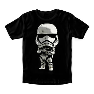 Lil Storm Trooper Star wars T-shirt | Black