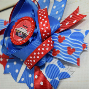 Mickey Cruise Boutique Bow, hair bows BargainBows