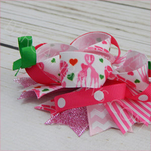 Pink Giraffe Boutique Bow