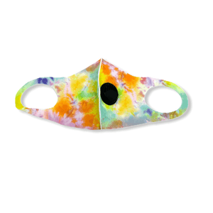 Adult Tie-Dye Sunset Mask w/valve