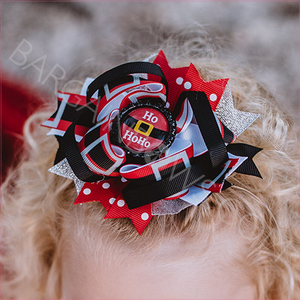 Santa's Belt Boutique Bow
