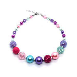 Shimmer and Shine Bubble Gum bead Necklace
