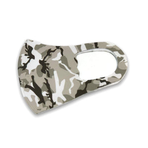 Grey Camo Soft Mask | Adult & Youth