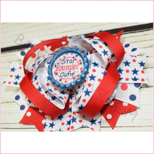 Dottie Star Boutique Bow, hair bows BargainBows