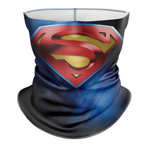 Performance Neck Gaiter W/Filter | Superman