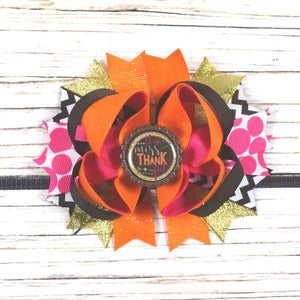Fall Bow Gift Box | Autumn Rose Edition