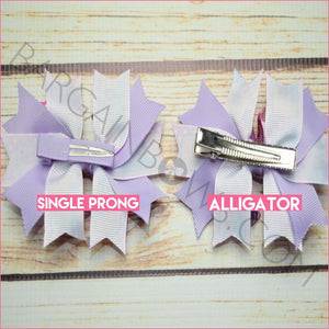 3.5 inch Time for Your Checkup Character Bow (Single Prong, Alligator Clip)