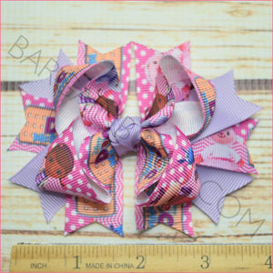 Time for Your Checkup Character Bow in 3.5 inch size