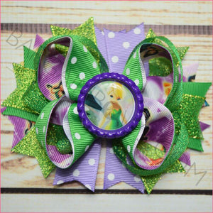 Tinkerbell and Fairies Boutique Bow