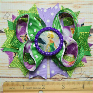 Tinkerbell and Fairies Boutique Bow from Bargainbows