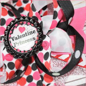 Valentine Princess Boutique Bow
