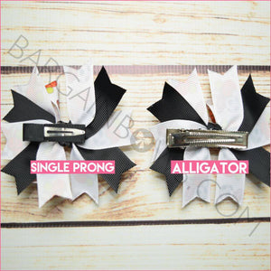 3.5 inch Varsity Sports Character Bow (Single Prong & Alligator Clip)