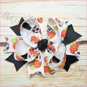 3.5 inch Varsity Sports Character Bow from Bargain Bows