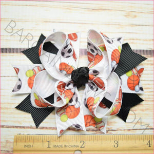 Varsity Sports Character Bow in 3.5 inch size