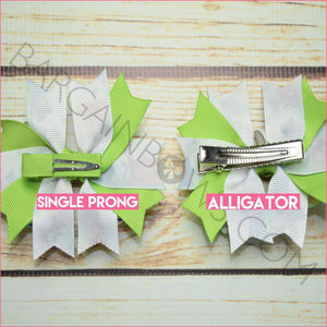 3.5 inch Winnie the Pooh Character Bow (Single Prong & Alligator Clip)
