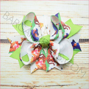 3.5 inch Winnie the Pooh Character Bow from Bargain Bows