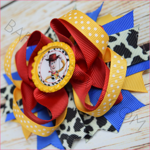 Woody Toy Story Boutique Bow