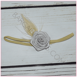 Antique Rose Headband, headbands BargainBows