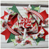 Candy Cane Holiday Boutique Bow