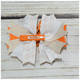 Candy Corn Halloween Boutique Bow, hair bows BargainBows