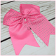 Rhinestone Cheer Bow Clip, hair bows BargainBows