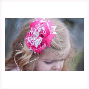 Cute Baby Damask Boutique Bow - BargainBow4s
