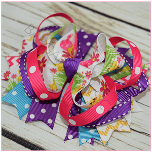 Easter Cutie Boutique Bow, hair bows BargainBows