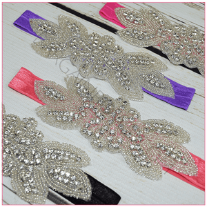 Jeweled headbands, headbands BargainBows