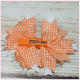 Orange Cream Soda Boutique Bow, hair bows BargainBows