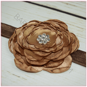Sophie Satin Flower Headband from BargainBows