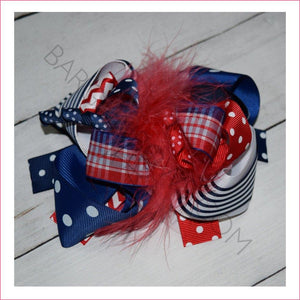 4th Feather Boutique Bow for Cute Babies - Bargain Bows