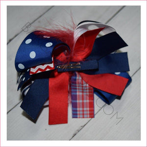 4th Feather Boutique Bow - Bargain Bows
